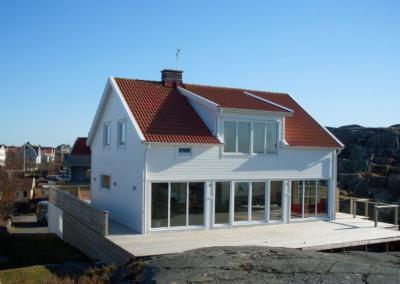 realizacja biały domek